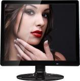 Монитор LCD СИД 15 дюймов с VGA, круглым основанием