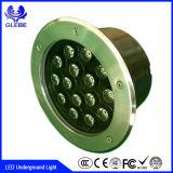 Luz subterrânea do círculo claro subterrâneo do diodo emissor de luz IP67