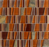 Мозаика 2017 трапецоида мраморный/стеклянная мозаика для плитки стены