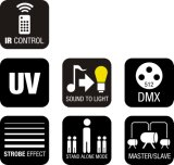 40W 세륨을%s 가진 단계를 위한 UV LED 세척 바 빛
