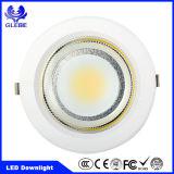 Gussaluminium runden vertieften LED Downlight PFEILER SMD Ce/RoHS sterben