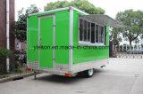 Kundenspezifischer Mobile Food Van Trailer für amerikanischen Standard
