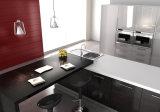 ヨーロッパデザインMDFのメラミンラッカー紫外線高いGrossyの食器棚