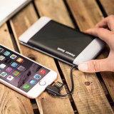 banco poderoso da potência do USB 6000mAh para dispositivos móveis