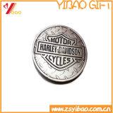 Pièce de monnaie faite sur commande d'enjeu d'or en métal de qualité (YB-SM-20)