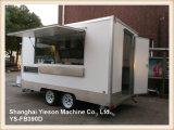 Reboque móvel do fast food de Van do alimento Ys-Fv220 para a venda EUA