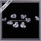 Het mooie Hart sneed de Parels van het Zirconiumdioxyde van 4X5mm voor Juwelen