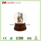 Globo della neve del mestiere 60mm di Polyresin con il Figurine di angelo per il regalo domestico del ricordo e della decorazione