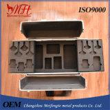 Boîtier aluminium personnalisé par MFT avec la garniture intérieure de mousse pour des outils