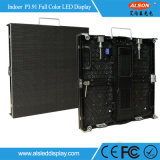 Super Slim a todo color P3.91 250 * 250mm LED Display Alquiler Etapa