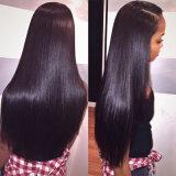 Paquets droits de Vierge de cheveu brésilien de Vierge du vison 8A 3 de cheveu d'armure droite soyeuse bon marché brésilienne droite brésilienne de cheveux humains
