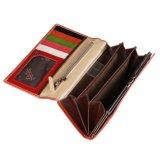 Славный конструированный бумажник PU выбитый кожей/хорошее качество и горячая повелительница Бумажник надувательства