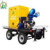 A bomba de secagem, assistência do vácuo Misturado-Flui bomba de água centrífuga do reboque