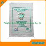 Las bolsas de plástico tejidas PP biodegradables del blanco del 100% para la venta
