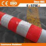 Orange Road PU Delineator flexible Avertissement Bollard