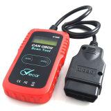 OBD2 U480 Automotive Fault Reading Code Lecteur de carte Lecteur de voiture et effacement Diagnostic de défaut Détecteur de balayage d'instruments Elm327