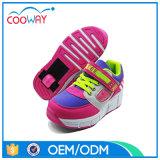 De nieuwste Schoenen van de Rolschaats van de Kinderen van de heet-Verkoop Comfortabele