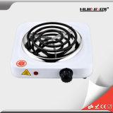 Plaque chaude bouillante simple portative électrique de boucle