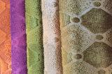 Tessuto 100% di tessile impresso del poliestere del velluto (EDM5134)