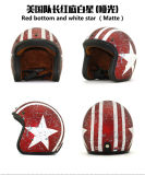 Capacete quente da motocicleta da face de Hlaf da venda de China, ABS, PONTO, ECE, preço de fábrica