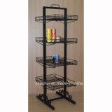 Porte-grille en tôle métallique pour plancher (pH15-033)