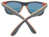 Fw17231 estilo de madera inferior del Mens del nuevo diseño MOQ Sunglass