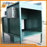 Cabine industrial móvel do revestimento do pó de Uesd