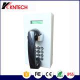 Telefono con la visualizzazione dell'affissione a cristalli liquidi per il telefono di servizio utilizzato interno della prigione