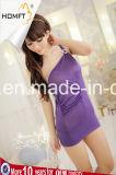 Nightgown оптовых сексуальных женщин повелительницы Одиночн Плеча Связывать Sleepwear стильных горячий
