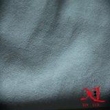 Têxtil branco puro Tecido de camurça de quatro camadas para vestuário