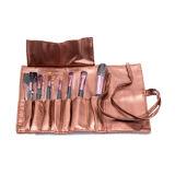 Nuevo conjunto de cepillo del maquillaje de 7 PCS con la maneta de madera