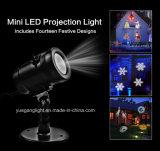 IP65 UL 세륨 LED 14 슬라이드 필름 분리가능한 Halloween 크리스마스 영사기 빛