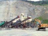 Pianta di schiacciamento di pietra del granito stazionario per produzione aggregata (150tph)