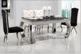 SpitzenmarmorEdelstahl-Speisetisch für Wohnzimmer-Möbel