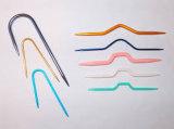 무료 샘플을%s 가진 다채로운 플라스틱 바늘