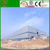 Almacén prefabricado de la vertiente del edificio industrial de la estructura de acero