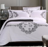 Koningin Luxury Cotton Bedding Set met Borduurwerk (DPF1071004)