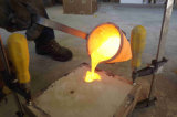 Carcaça de areia da resina da válvula de esfera da válvula do bloco da peça da válvula