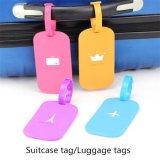 Nuovo contrassegno del contrassegno del silicone del supporto di indirizzo delle modifiche dei bagagli della valigia