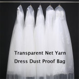 Heller weicher dünner transparenter Nettogarn-Kleid-Staub-Beweis-Beutel