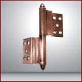 Projeto da grade de porta do metal