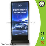 Best Products Portable Mobile Publicidade Alumínio Frame Light Box