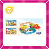Игра головоломки рельса поезда дешевой игрушки парка пластичная