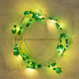 Luzes feericamente da semente da corda do Natal do cacto para decorações internas