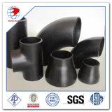 18 polegadas API 5L X52 Psl 1 0.469 polegadas 90 graus; Cotovelo do aço de carbono da LR