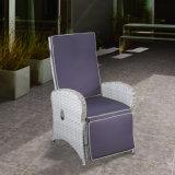 Patio-Sitzen-Raum-Rattan-hoch Rückseiten-Ältest-Arm-Stuhl-im Freien und Innenmöbel