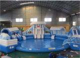 아이와 성인 (HL-310)를 위한 큰 팽창식 물 미끄럼