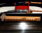 Tameshigiri Katana hecho a mano para la práctica del corte / espada verdadera