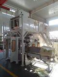 Empaquetadora de la harina de la avellana con la máquina del transportador y de la soldadura