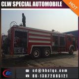 Camión de Rescate HOWO 6X4 emergencia Right Hand Drive del coche de bomberos